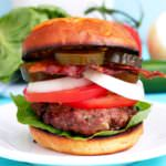 Sweet-Heat-Burgers are a perfectly seasoned blend of beef and pork, layered with sweet and spicy elements that are so good, it's destined to become your new signature burger.