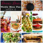 Weekly Menu Plan Week 8
