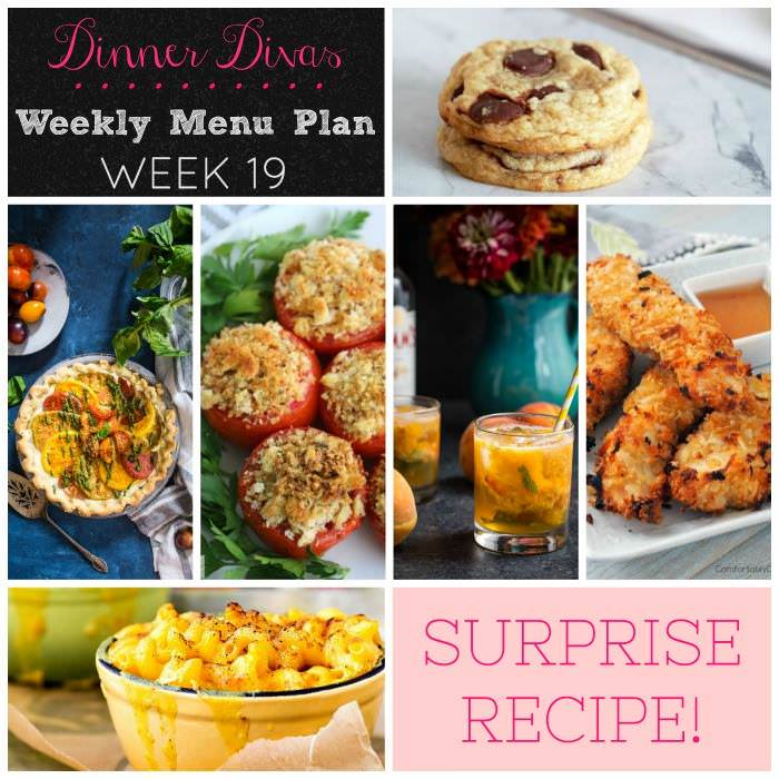 Weekly-Menu-Plan Week 19 is full of late summer goodness, with a sneak peak of fall comfort food to ease into the change of seasons.